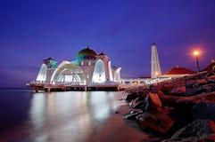 De Moskee van Selat, Malacca Royalty-vrije Stock Afbeeldingen