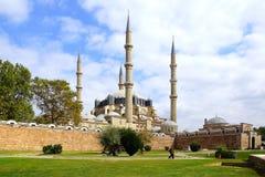 De Moskee van Selimiye, Edirne Stock Afbeeldingen