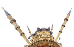 De Moskee van Selimiye, Edirne Het kleine planeeteffect Royalty-vrije Stock Afbeelding