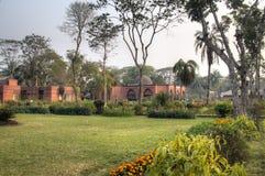 De Moskee van Shaitgumbad in Bagerhat, Bangladesh Royalty-vrije Stock Foto's