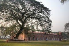 De Moskee van Shaitgumbad in Bagerhat, Bangladesh Royalty-vrije Stock Foto