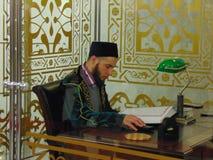 De moskee van Sharif van Kul stock afbeeldingen