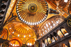 De Moskee van Sofia van Hagia stock fotografie