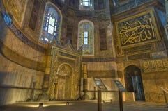 De Moskee van Sofia van Hagia in Istanboel stock afbeelding