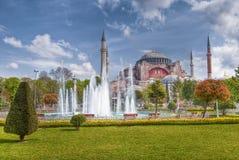 De Moskee van Sofia van Hagia in Istanboel royalty-vrije stock foto