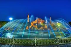 De Moskee van Sofia van Hagia in Istanboel royalty-vrije stock foto's