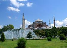De moskee van Sophia van Hagia stock foto