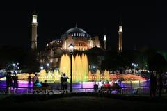 De moskee van Sophia van Hagia stock afbeeldingen