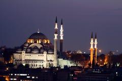 De Moskee van Suleiman Stock Afbeelding