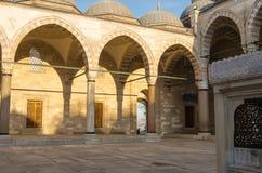 De Moskee van Suleymaniye Royalty-vrije Stock Afbeeldingen