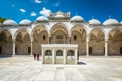 De Moskee van Suleymaniye stock afbeelding