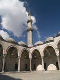 De moskee van Suleymaniye in Istambul Royalty-vrije Stock Afbeelding