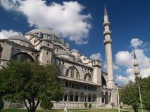 De moskee van Suleymaniye in Istambul Stock Afbeelding