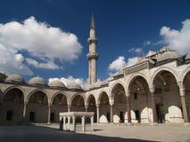 De moskee van Suleymaniye in Istambul Stock Foto's