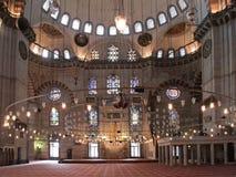 De moskee van Suleymaniye in Istambul Royalty-vrije Stock Afbeeldingen