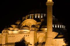De Moskee van Suleymaniye, Istanboel Royalty-vrije Stock Afbeeldingen