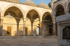 De Moskee van Suleymaniye, Istanboel Royalty-vrije Stock Foto