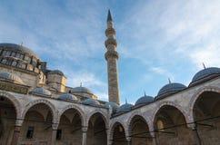 De Moskee van Suleymaniye, Istanboel Stock Afbeelding