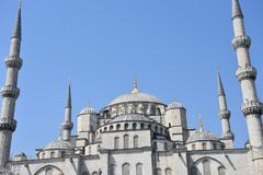 De Moskee van Suleymaniye, Istanboel, Turkije royalty-vrije stock foto's