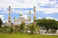 De Moskee van Tamoi van Kampong, Brunei Stock Foto
