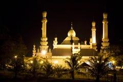 De Moskee van Tamoi van Kampong, Brunei Stock Fotografie