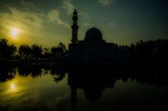 De Moskee van Tengah Zaharah van Tengku Stock Afbeeldingen