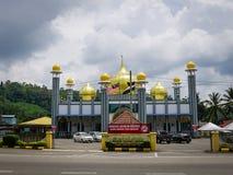 De moskee van Tengkuahmad, Jerantut, Pahang Royalty-vrije Stock Fotografie