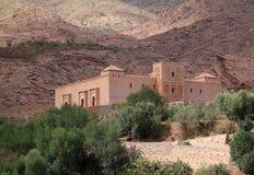 De Moskee van Tinmal in de Hoge Atlas stock afbeeldingen