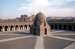 De Moskee van Tulun van Ibn, Kaïro, Egypte Royalty-vrije Stock Foto's