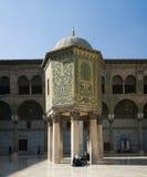 De moskee van Umayyad in Damascus Royalty-vrije Stock Foto's