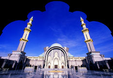 De Moskee van Wilayah Royalty-vrije Stock Foto