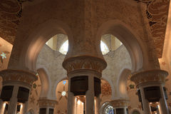 De sjeik zayed moskee Stock Foto's