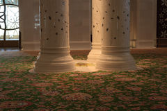 De sjeik zayed moskee Royalty-vrije Stock Foto