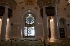 De sjeik zayed moskee Royalty-vrije Stock Foto's