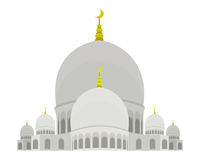 De Moskee van Zayed van de sjeik Stock Foto