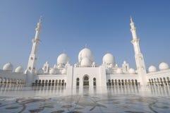 De Moskee van Zayed van de sjeik, Abu Dhabi Royalty-vrije Stock Afbeeldingen