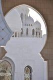 De Moskee van Zayed van de sjeik in Abu Dhabi royalty-vrije stock fotografie