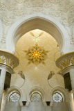 De Moskee van Zayed van Shaikh stock afbeeldingen