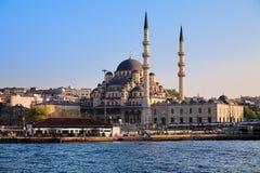 De moskee Yeni in Istanboel Royalty-vrije Stock Afbeelding