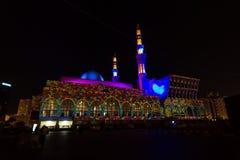 De Moskeefestival van Sharjah Stock Fotografie