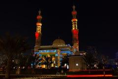 De Moskeefestival van Sharjah Stock Foto's