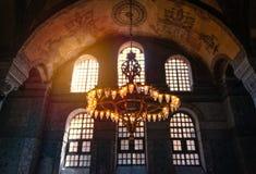 De moskeemuseum van Hagiasophia in Istanboel, Turkije royalty-vrije stock fotografie