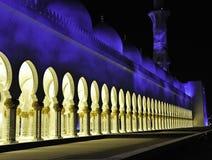De moskees de V.A.E van Zayed van de sjeik Stock Foto's