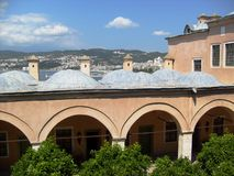 De moskeesmeningen van Istanboel Stock Foto