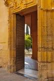 De moskeeterras van de deur Royalty-vrije Stock Foto's