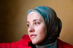 De moslimvrouw van het mohammedanisme Stock Foto