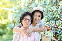 De Mother'sdag is een hoogst speciale gelegenheid voor het eren van mamma stock foto