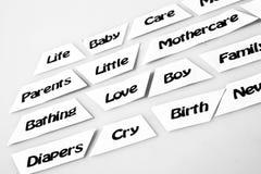 De Mothercareindustrie Stock Foto