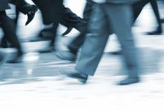 De motie van de burger Stock Foto