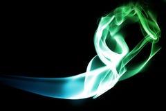 De motie van de rook Royalty-vrije Stock Afbeeldingen